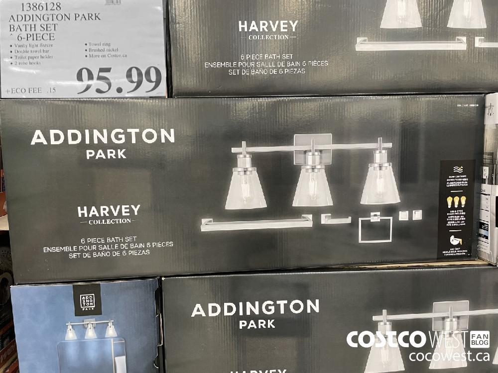 1386128 ADDINGTON PARK BATH SET * 6-PIECE $95.99