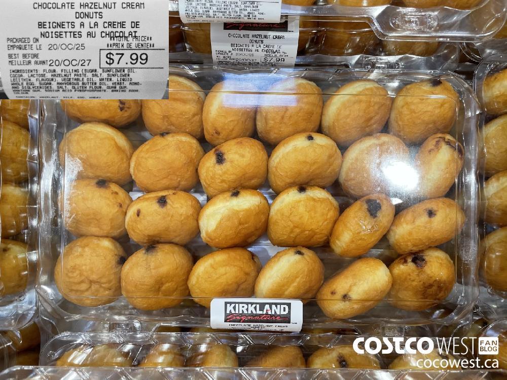 CHOCOLATE HAZELNUT CREAN DONUTS $7.99
