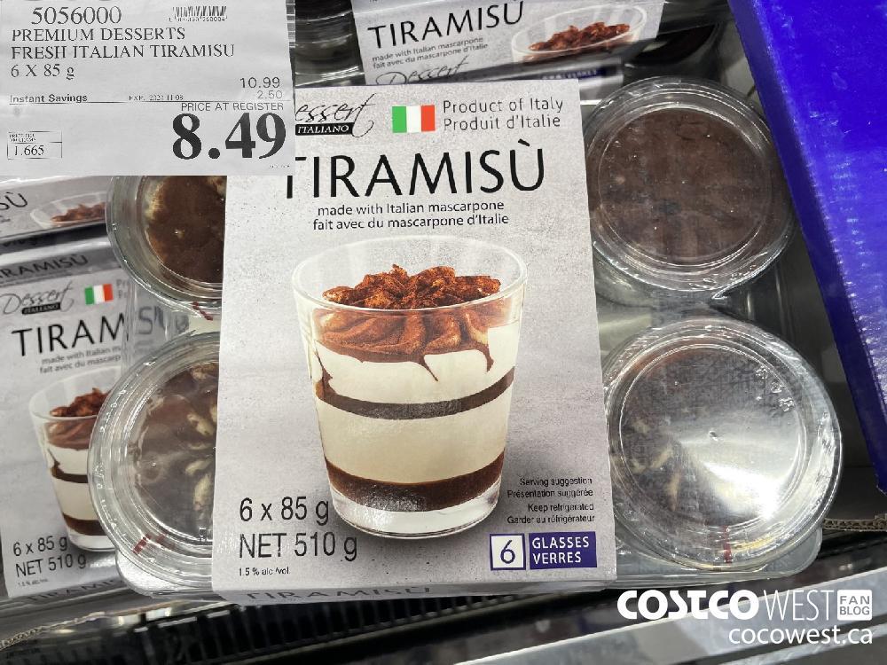 5056000 PREMIUM DESSERTS FRESH ITALIAN TIRAMISU