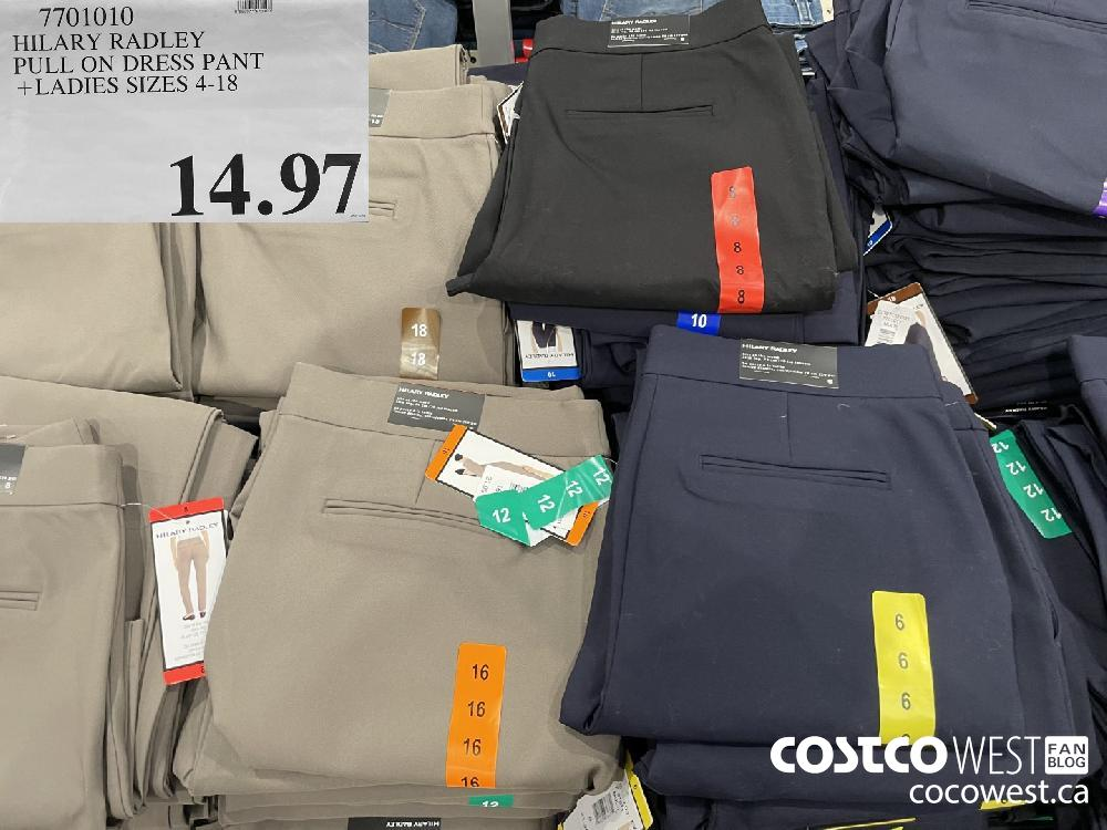 7701010 HILARY RADLEY PULL ON DRESS PANT LADIES SIZES 4-18 $14.97