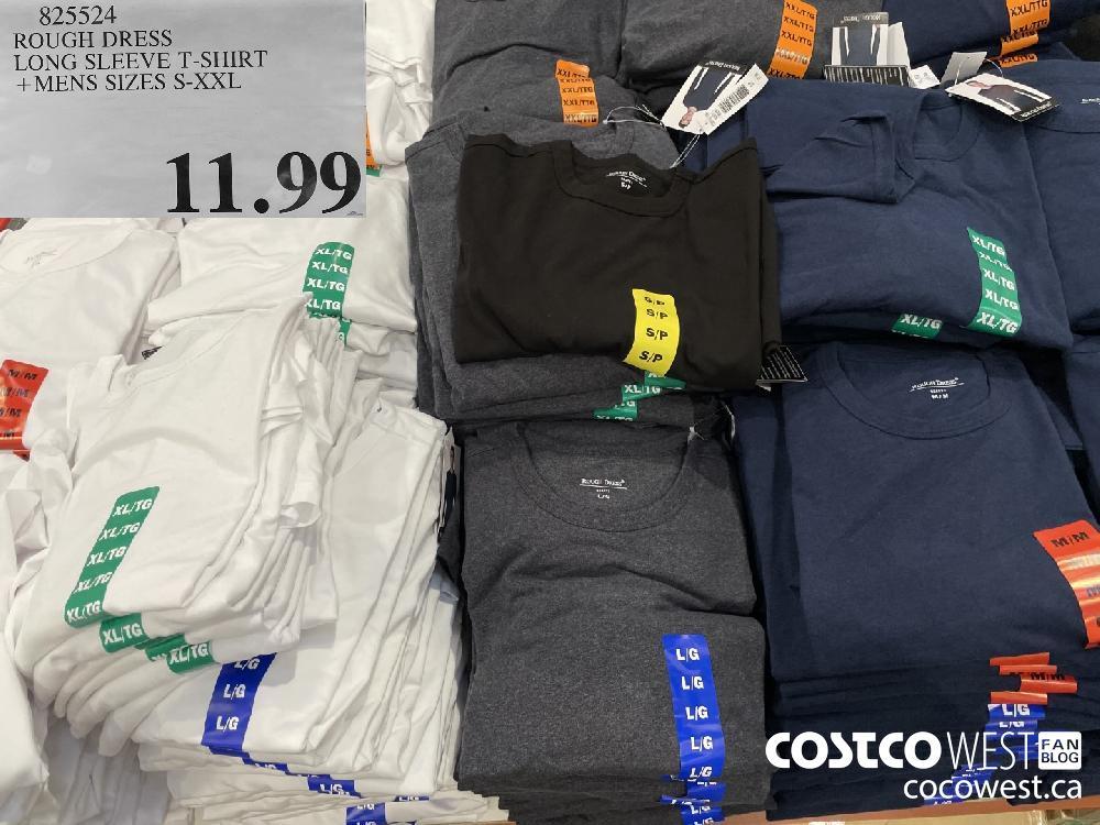 825524 ROUGH DRESS LONG SLEEVE T-SHIRT MENS SIZES S-XXL $11.99