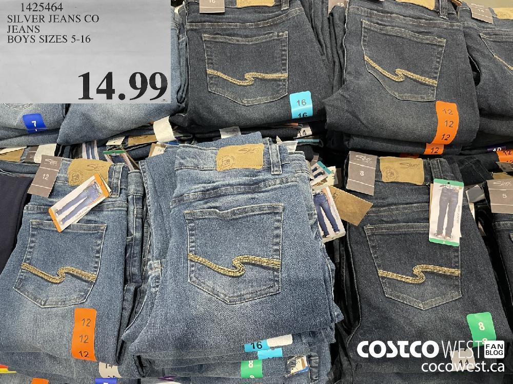 1425464 SILVER JEANS CO JEANS BOYS SIZES 5-16 $14.99