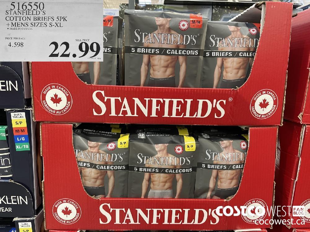 216950 STANFIELD'S COTTON BRIEFS 5PK MENS SIZES S-XL $297.99