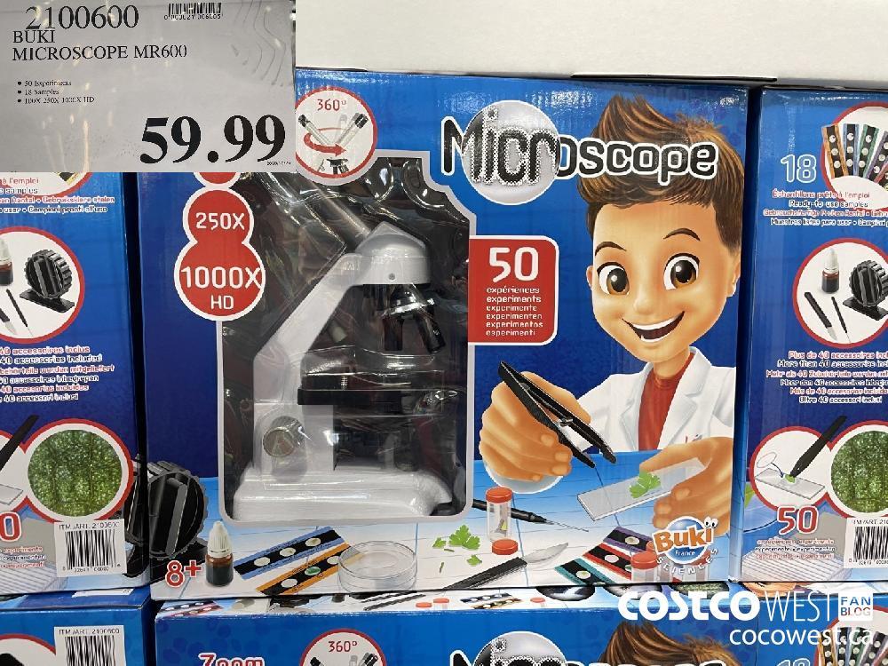 2100600 BUKI MICROSCOPE MR600 $59.99