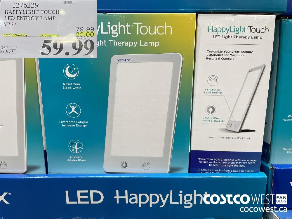 127699 HAPPYLIGHT TOUCH LED ENERGY LAMP VT32 EXP. 2020-11-08 $59.99