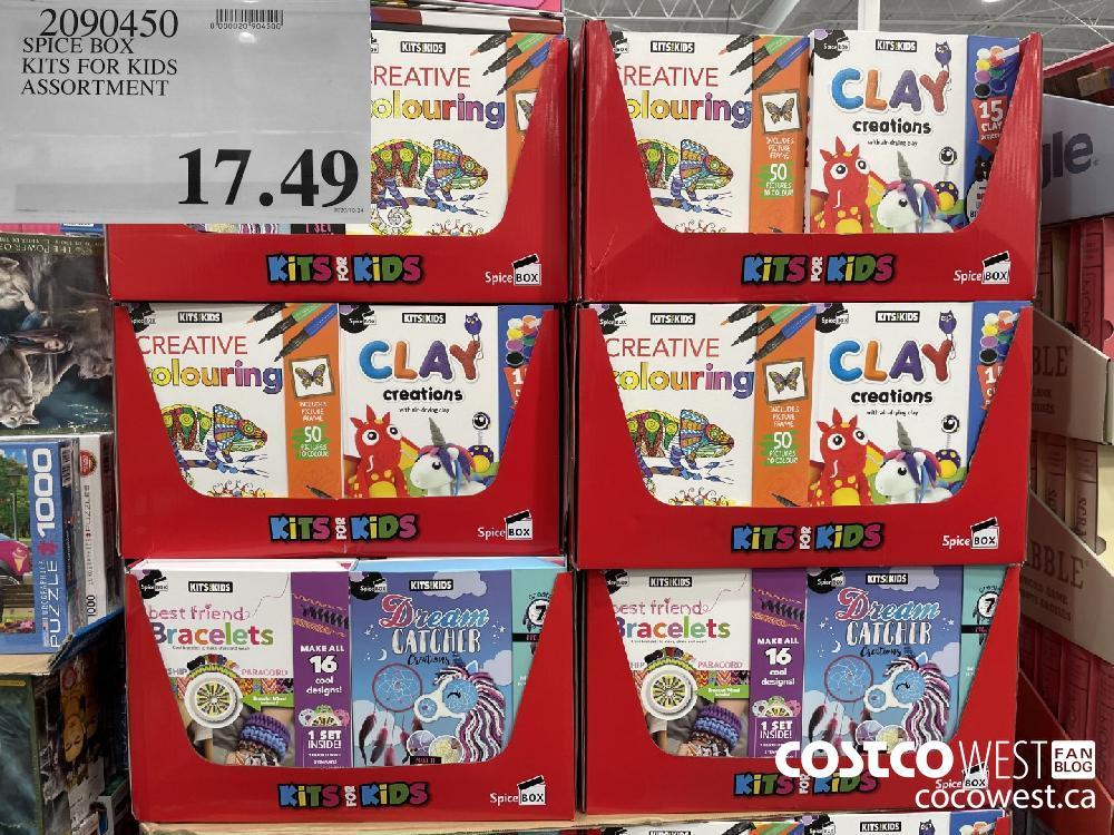 2090450 SPICE BOX KITS FOR KIDS ASSORTMENT $17.49