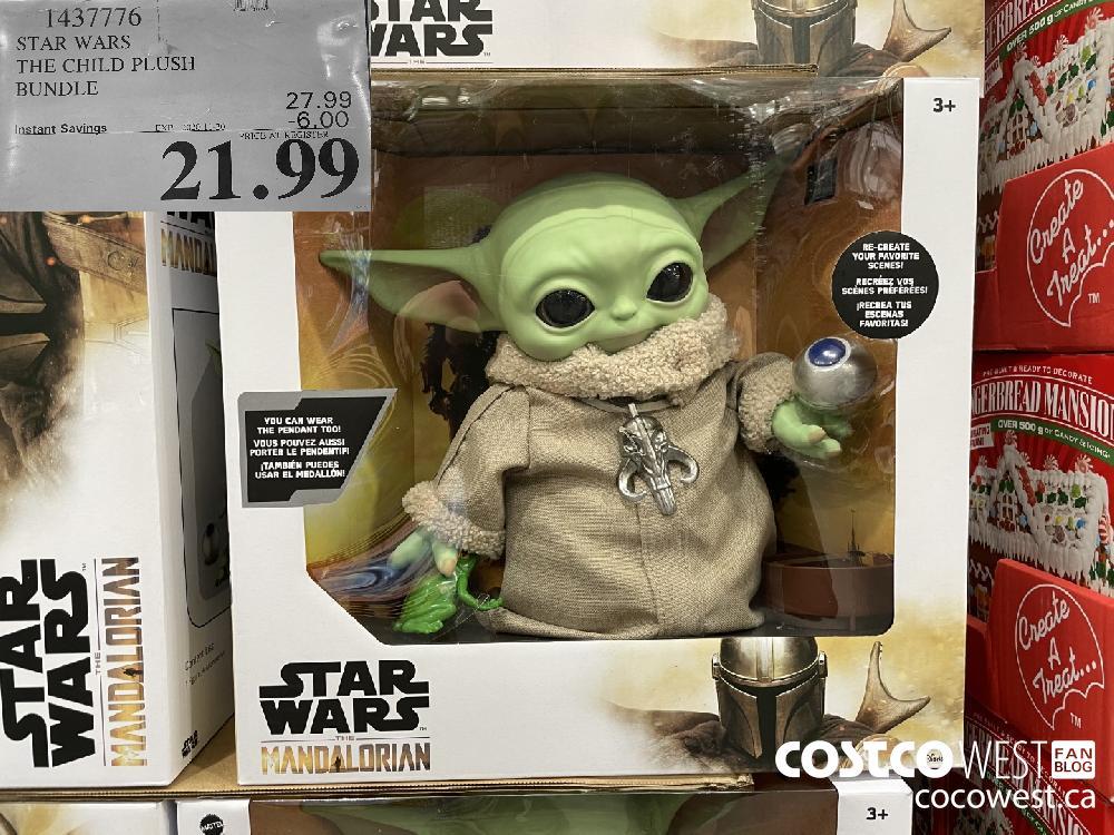 1437776 STAR WARS THE CHILD PLUSH BUNDLE EXP. 2020-11-20 $21.99