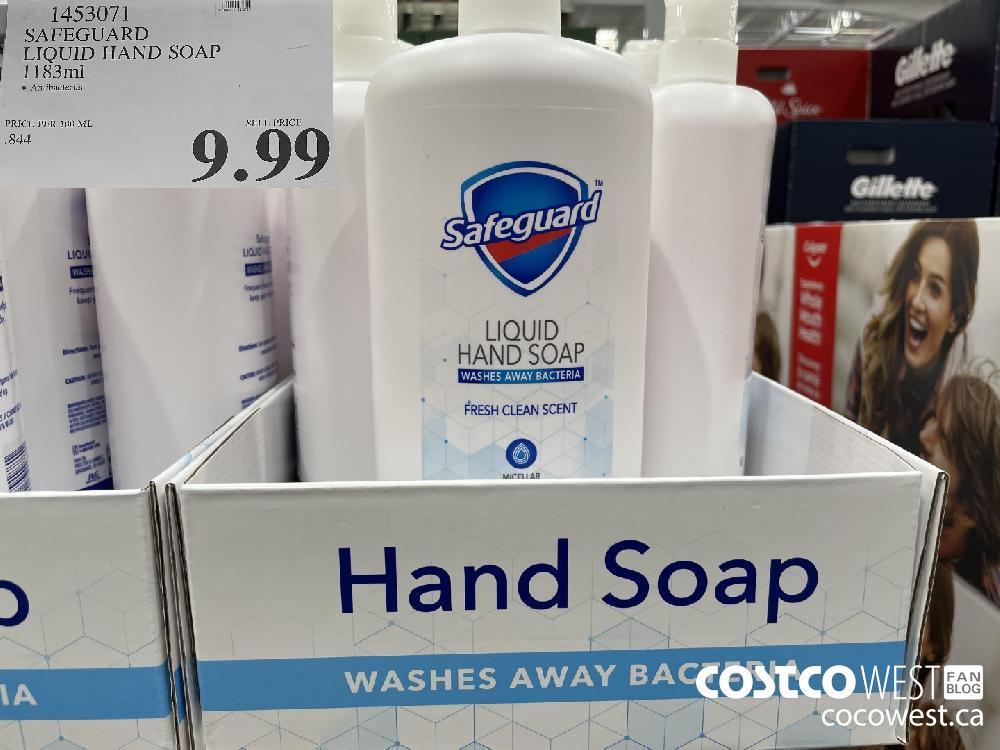 1453071 SAFEGUARD LIQUID HAND SOAP 1183ml $9.99