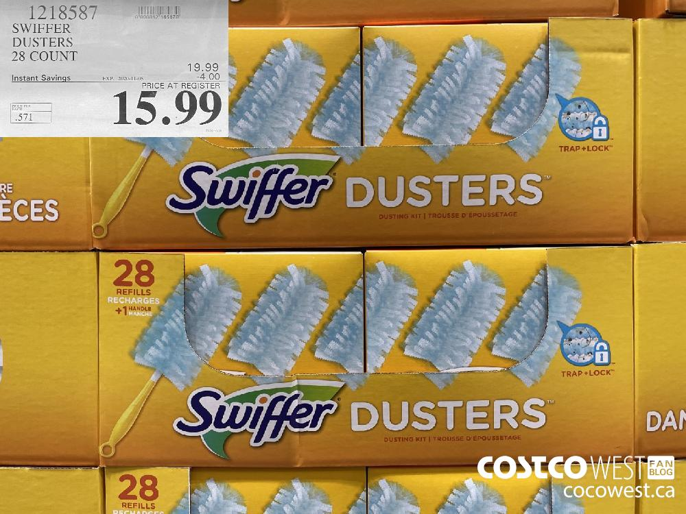 1218587 SWIFFER DUSTERS 28 COUNT EXP. 2020-11-08 $15.99
