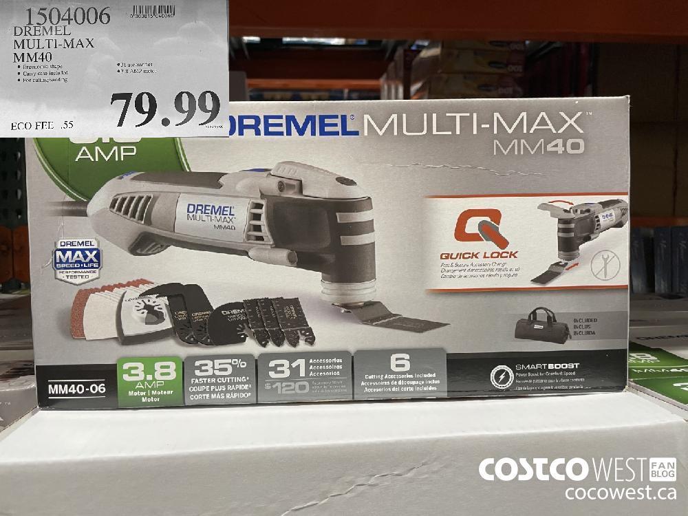 1504006 DREMEL MULTI-MAX MM40 $79.99