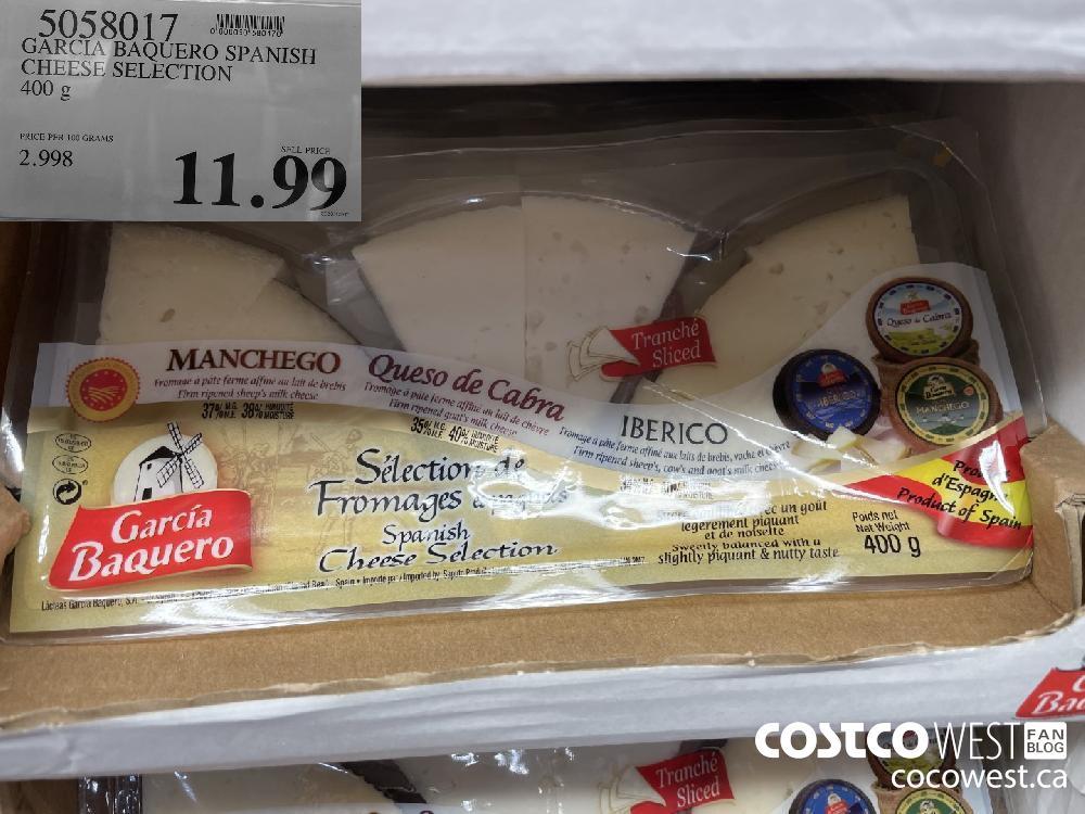 5058017 GARCIA BAQUERO SPANISH CHEESE SELECTION 400 g $11.99