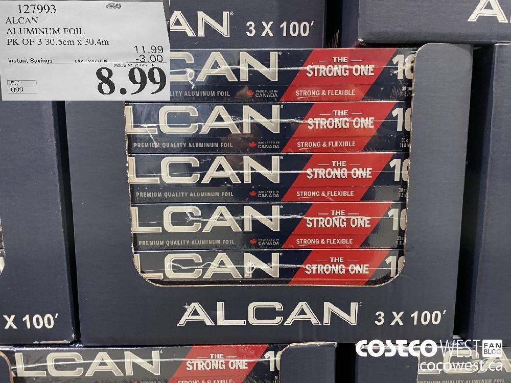 127993 ALCAN ALUMINUM FOIL EXP. 2020-11-08 $8.99