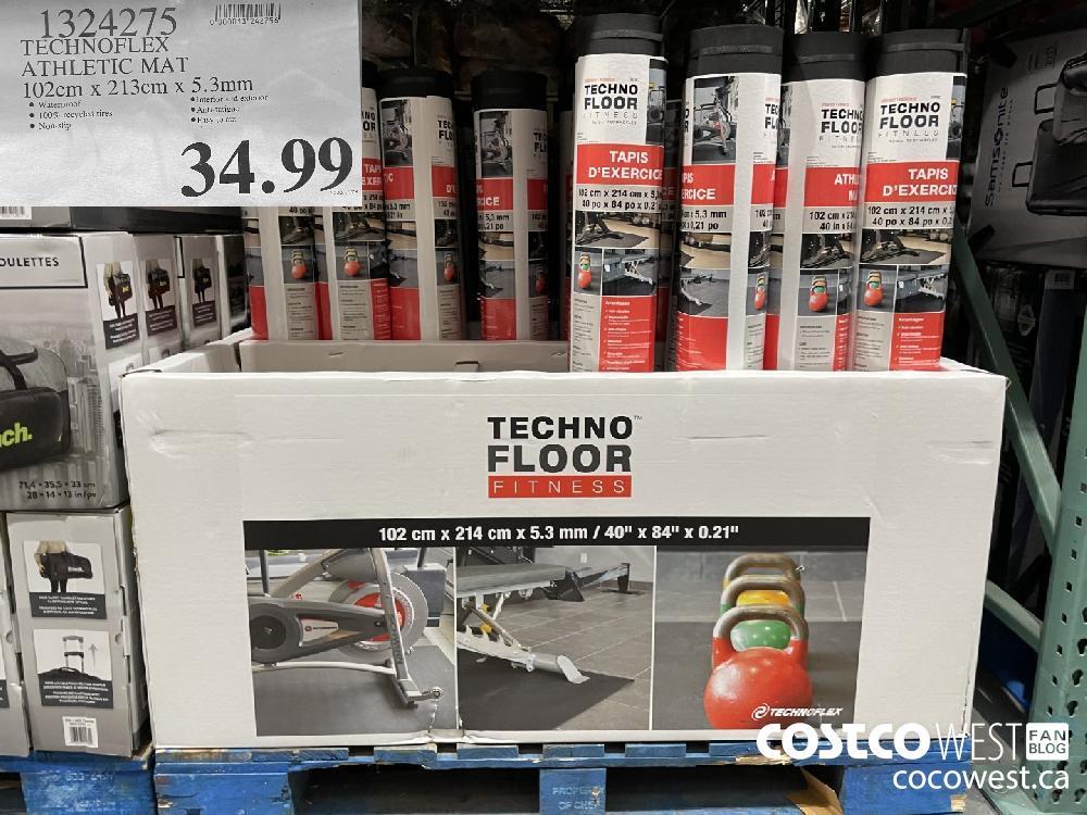 1324275 TECHNOFLEX ATHLETIC MAT 102cm x 213cm x 5.3mm $34.99