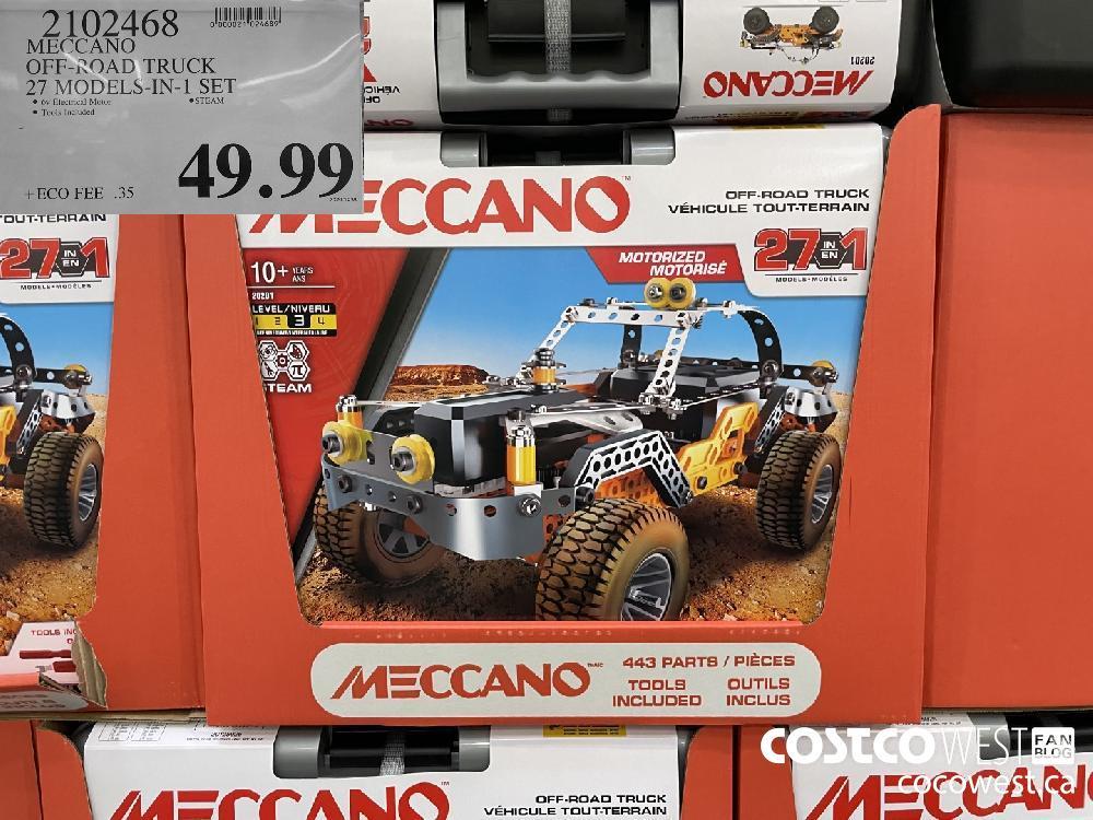2102468 MECCANO OFF- ROAD TRUCK 27 MODELS-IN-1 SET $49.99