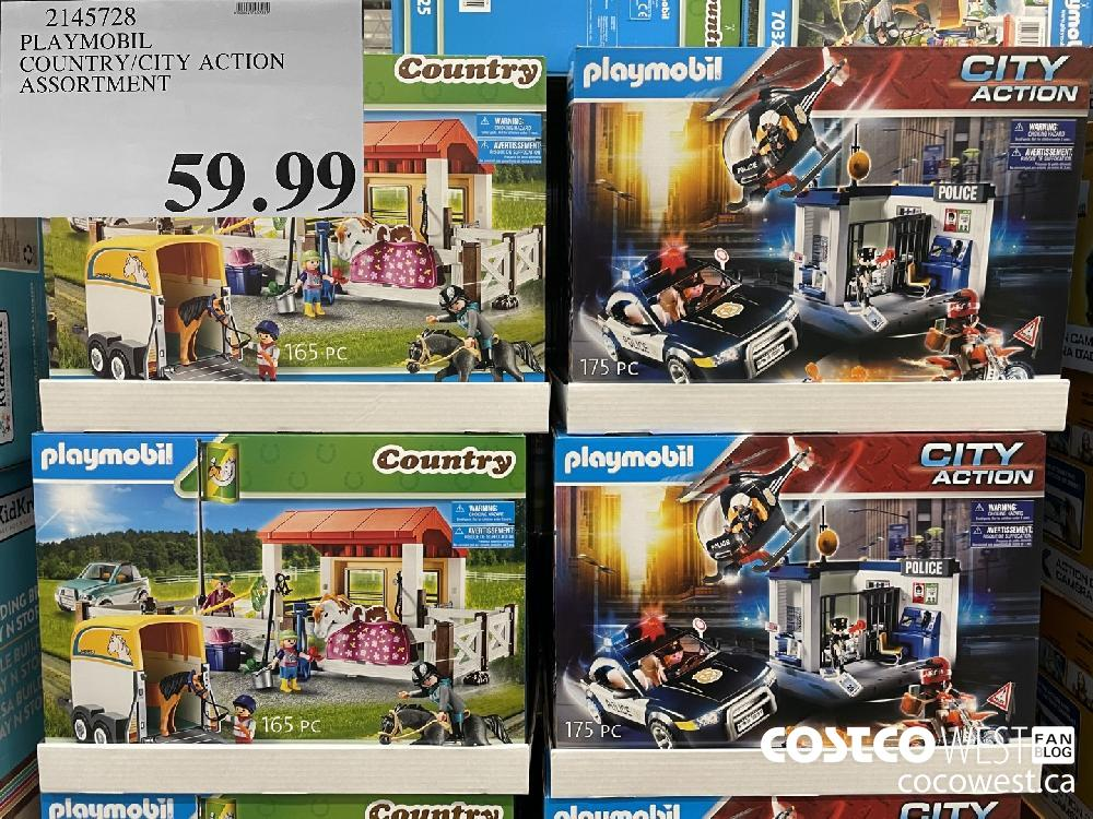 2145728 PLAYMOBIL COUNTRY/CITY ACTION ASSORTMENT $59 99