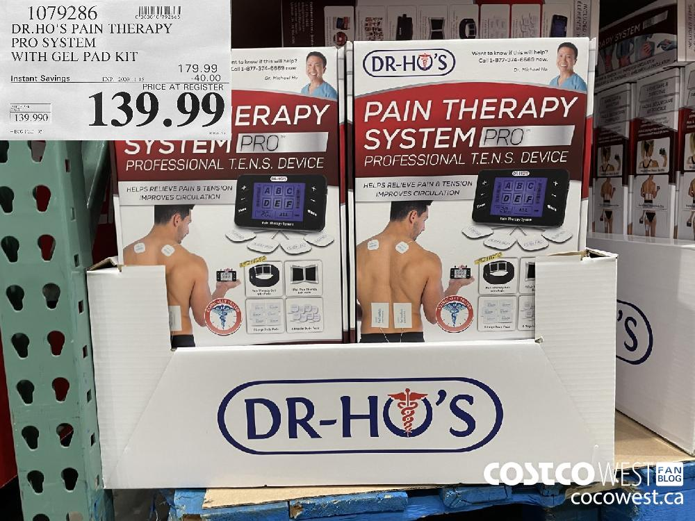 1079286 DR.HO'S PAIN THERAPY PRO SYSTEM WITH GEL PAD KIT EXP. 2020-11-15 $139.99