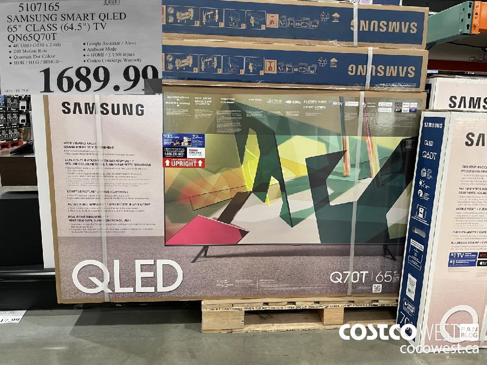 "5107165 SAMSUNG SMART QLED 65"" CLASS (64.5"") TV QN65Q70T $1689.99"