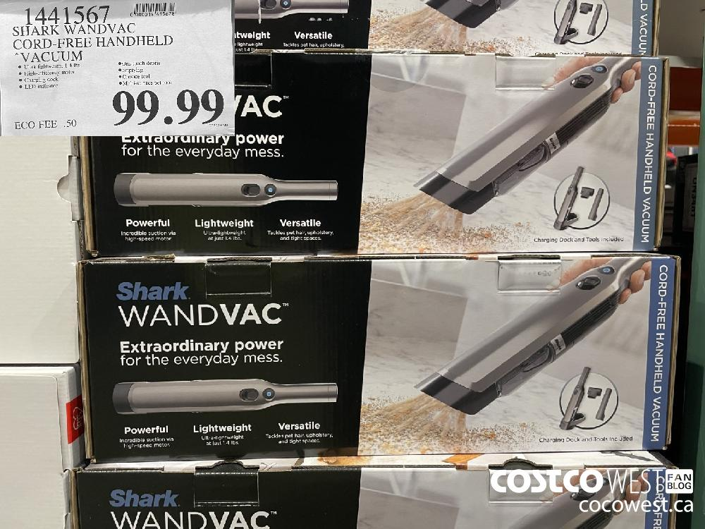 "1441567 SHARK WANDVAC CORD-FREE HANDHELD ""VACUUM $99.99"