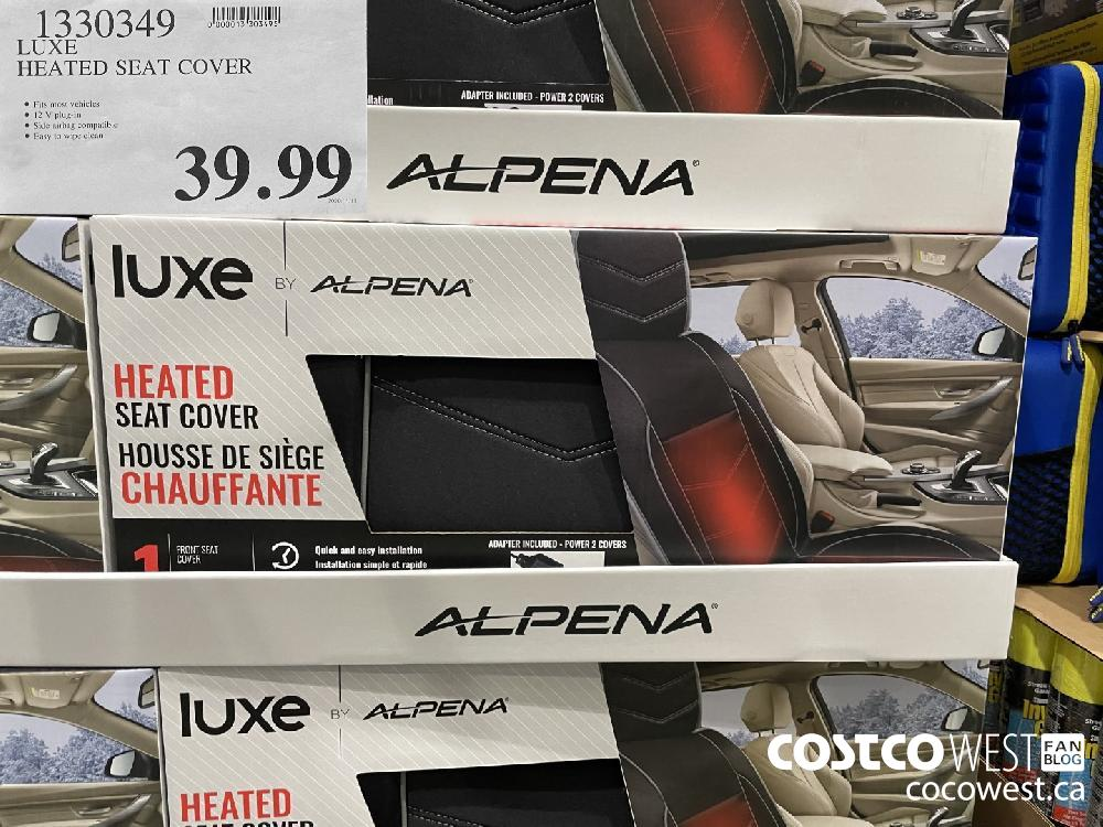 1330349 LUXE HEATED SEAT COVER $39.99