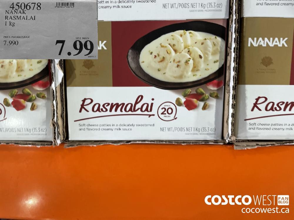450678 NANAK RASMALAI 1 kg $7.99