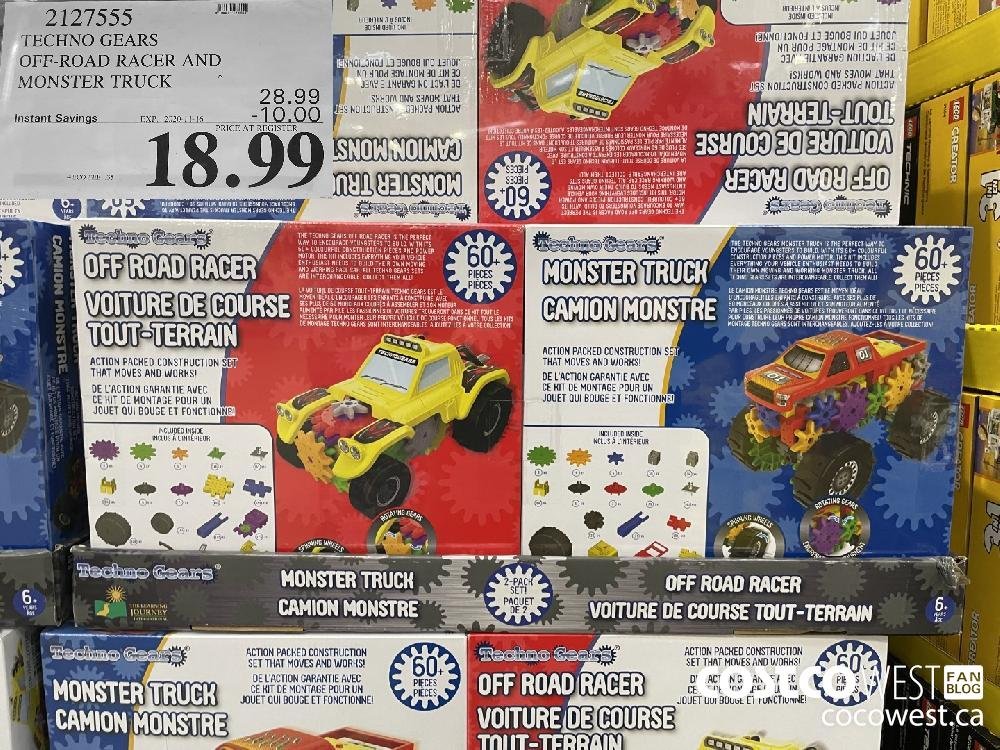 TECHNO GEARS OFF-ROAD RACER AND MONSTER TRUCK EXP. 2020-11-16 $18.99