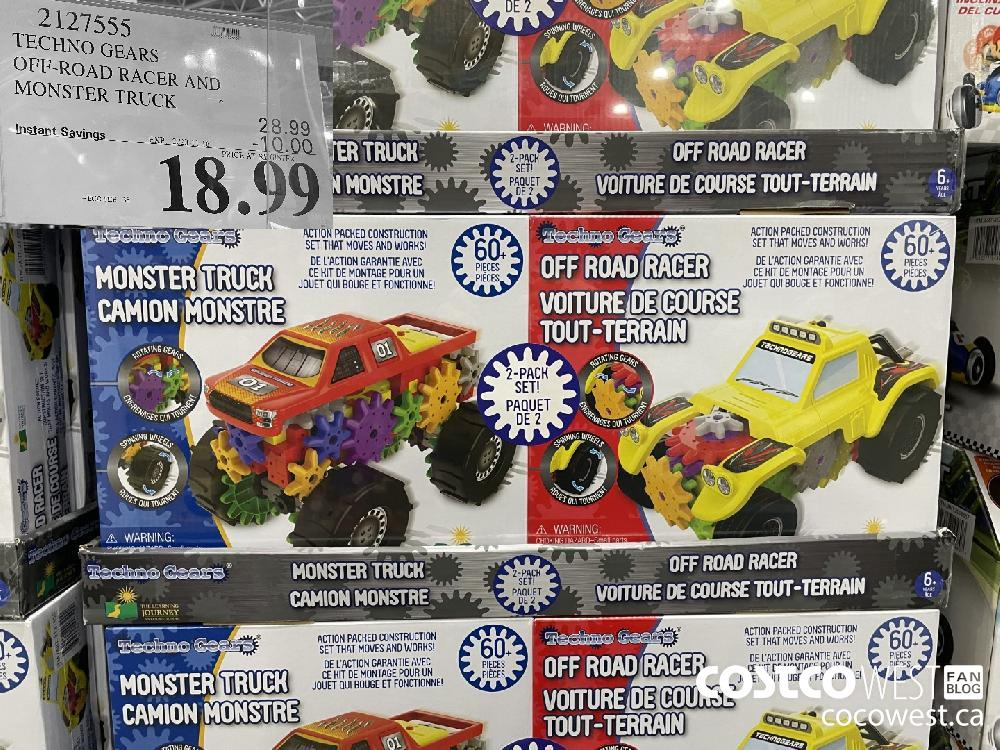 2127555 TECHNO GEARS OFF-ROAD RACER AND MONSTER TRUCK EXP. 2020-11-26 $18.99