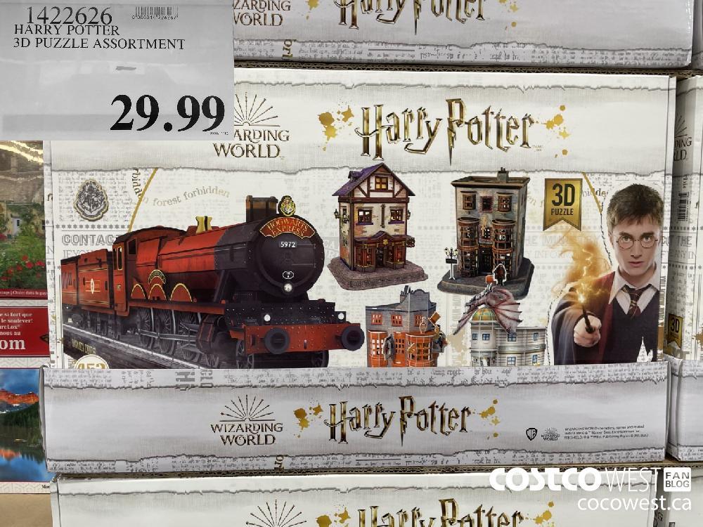 1422626 HARRY POTTER 3D PUZZLE ASSORTMENT 29.99