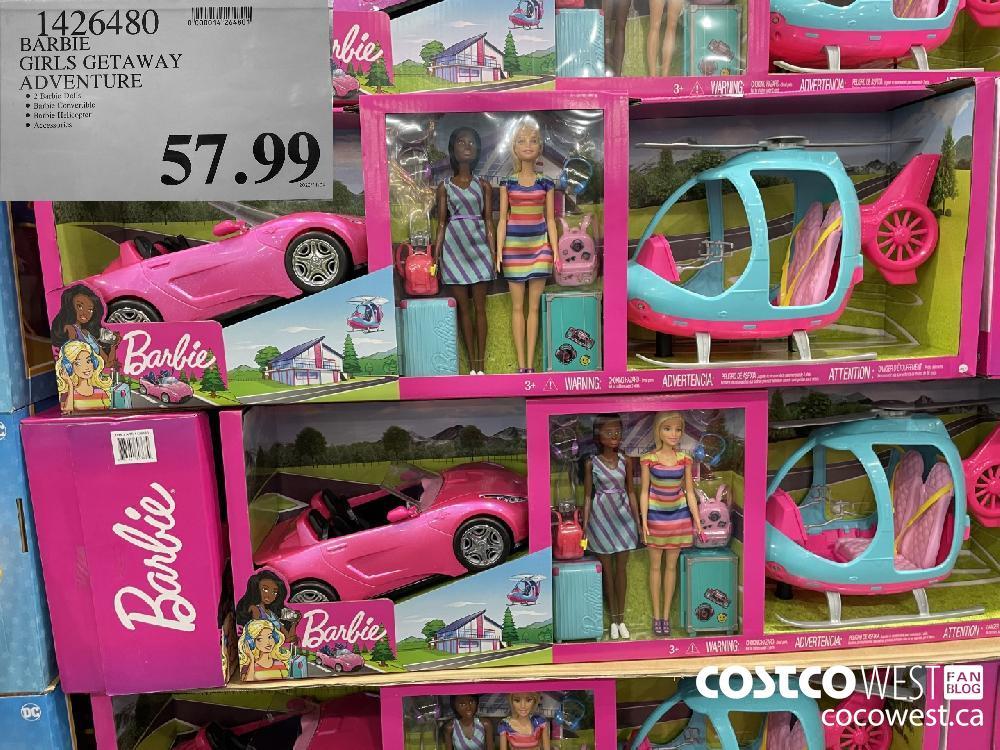 1426480 BARBIE GIRLS GETAWAY ADVENTURE $57.99
