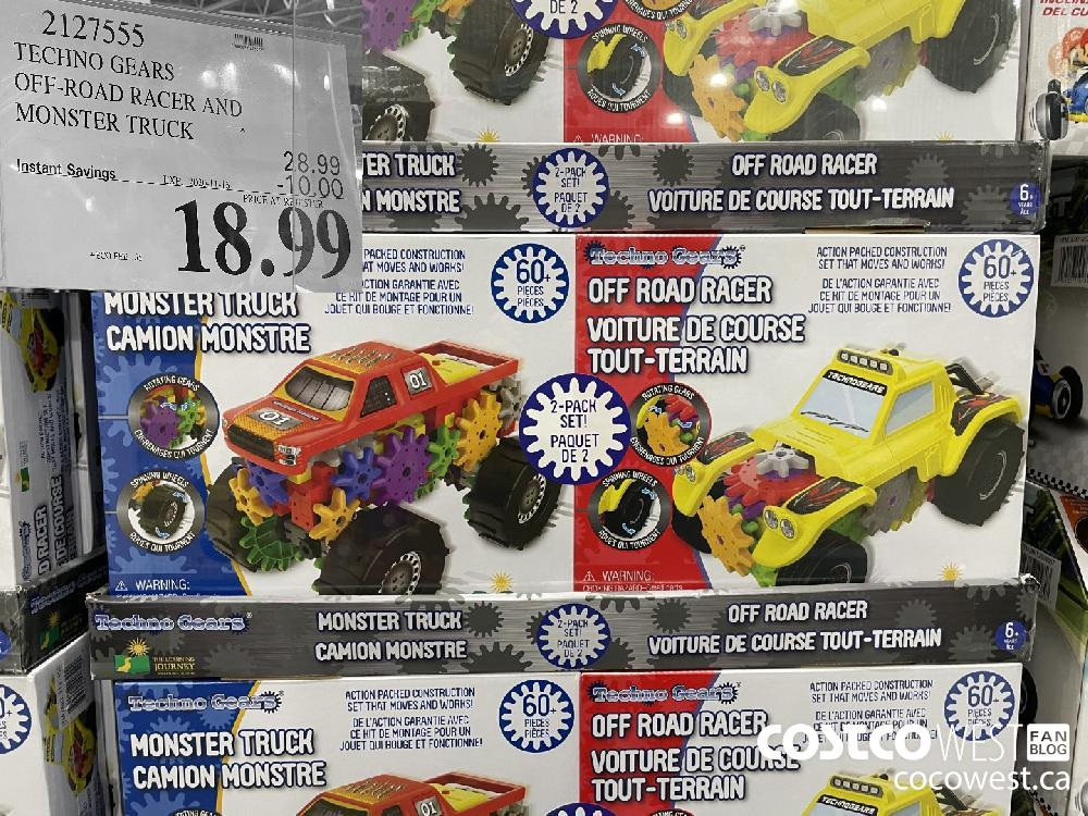 2127555 TECHNO GEARS OFF-ROAD RACER AND MONSTER TRUCK EXP. 2020-11-16 $18.99