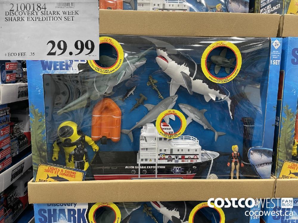 2100184 DISCOVERY SHARK WEEK SHARK EXPEDITION SET $29.99