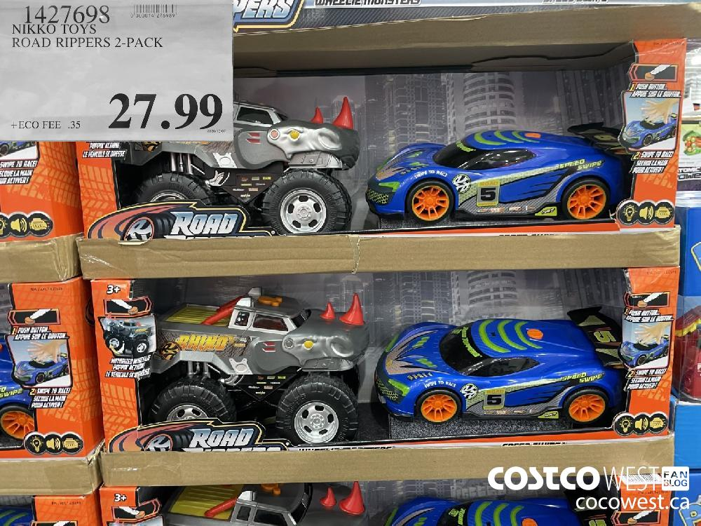 1427698 NIKKO TOYS ROAD RIPPERS 2-PACK $27.99
