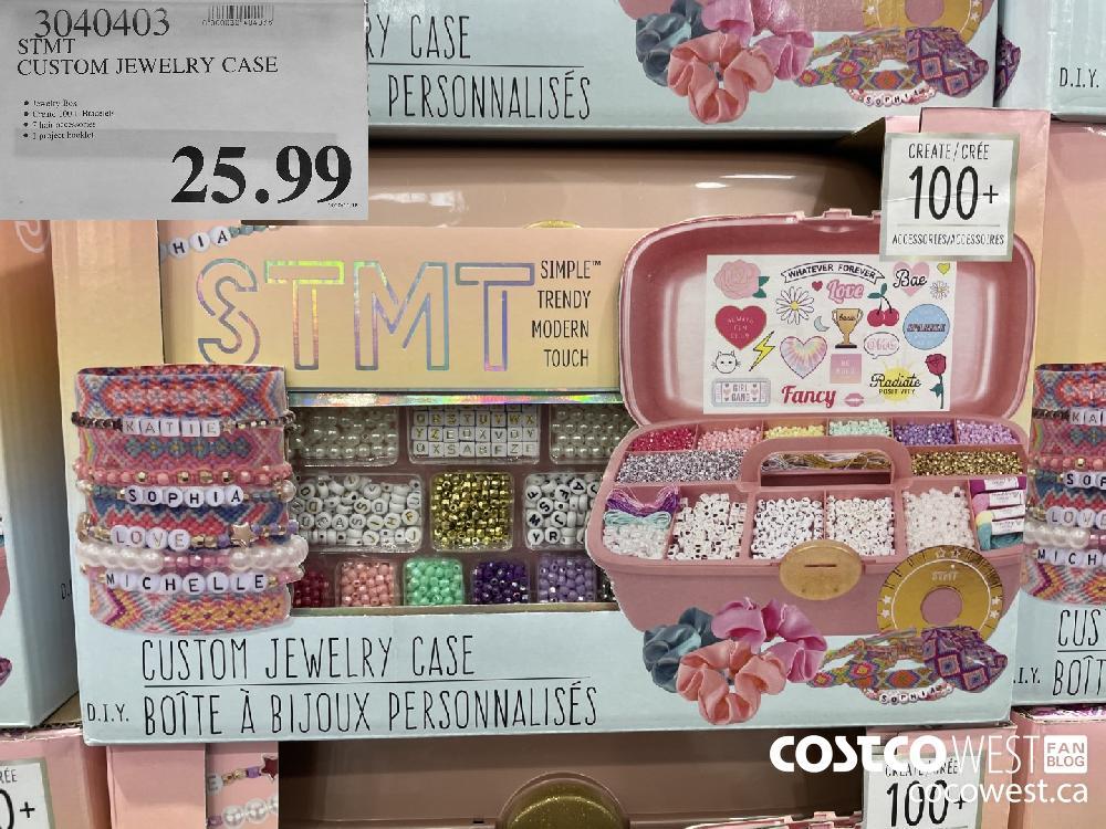 3040403 STMT CUSTOM JEWELRY CASE $25.99
