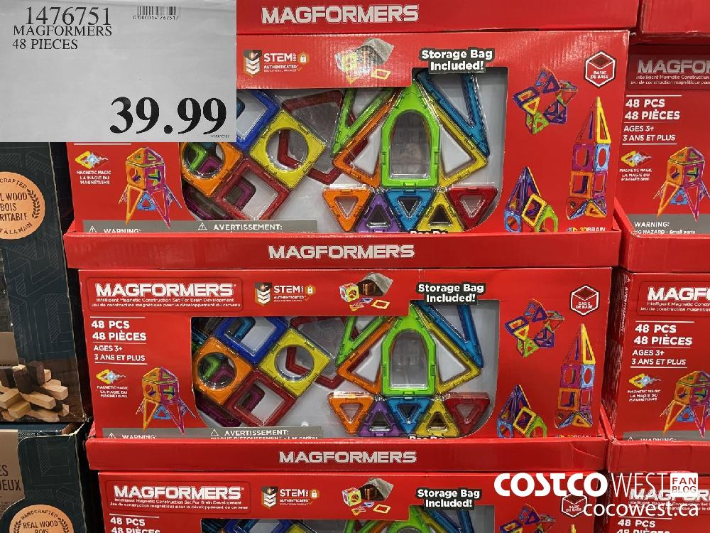 1476751 MAGFORMERS 48 PIECES $39.99