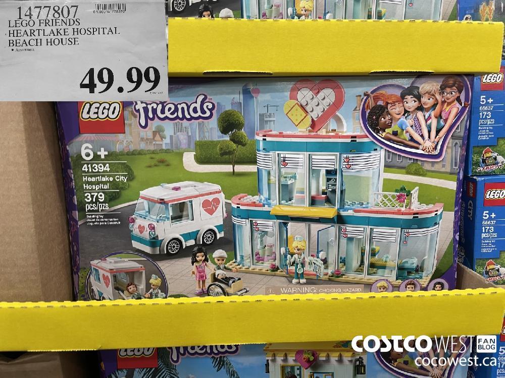 1477307 LEGO FRIENDS HEARTLAKE HOSPITAL BEACH HOUSE $49.99
