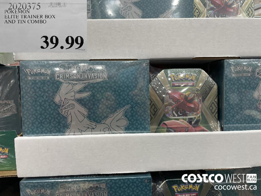 2020375 POKEMON ELITE TRAINER BOX AND TIN COMBO $39.99