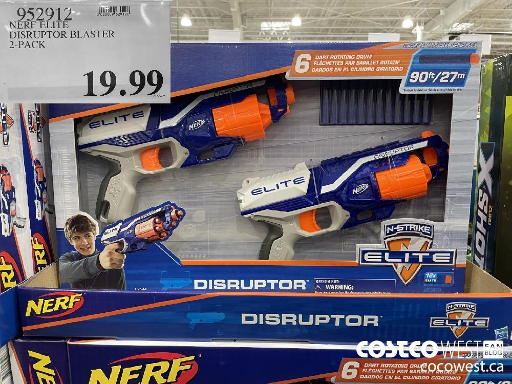 952912 NERE ELITE DISRUPTOR BLASTER 2-PACK $19.99