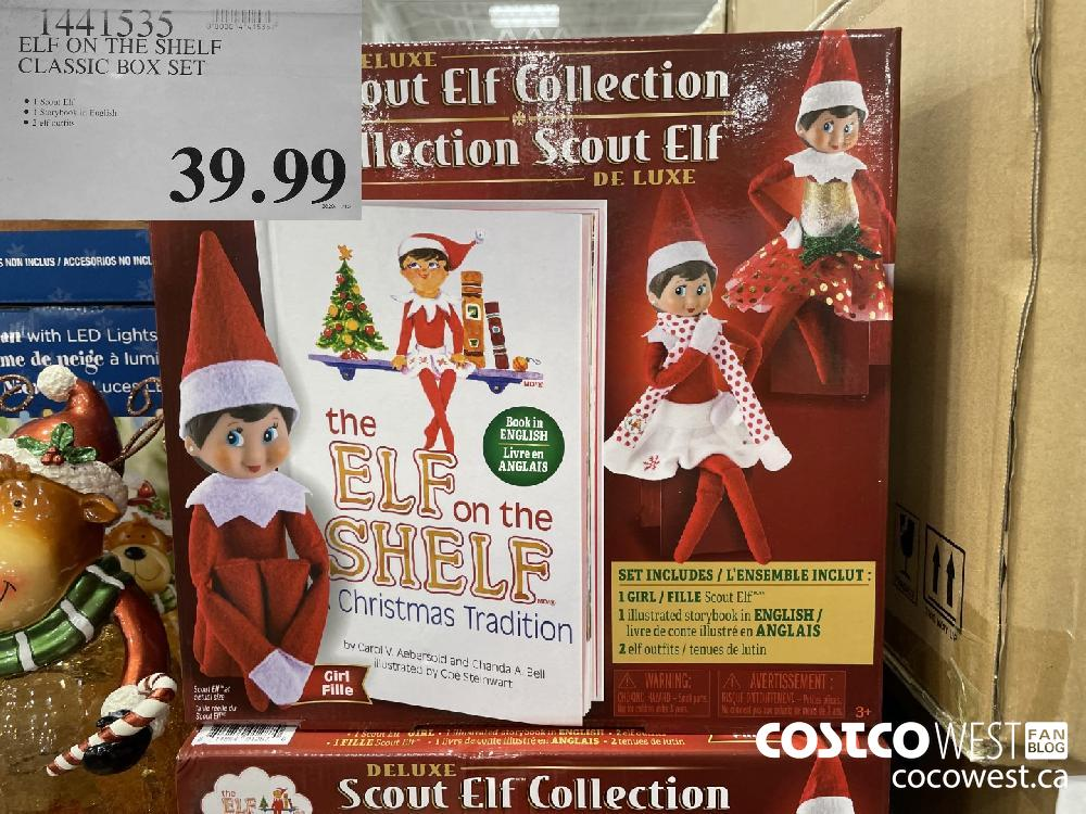 1441535 ELF ON THE SHELF CLASSIC BOX SET $39.99