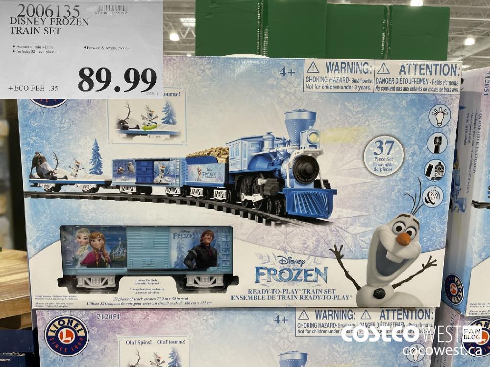 2006135 DISNEY FROZEN TRAIN SET $89.99