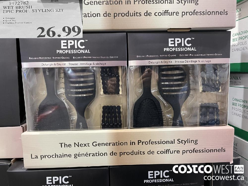 1472782 WET BRUSH EPIC PROF. STYLING KIT 3 26.99