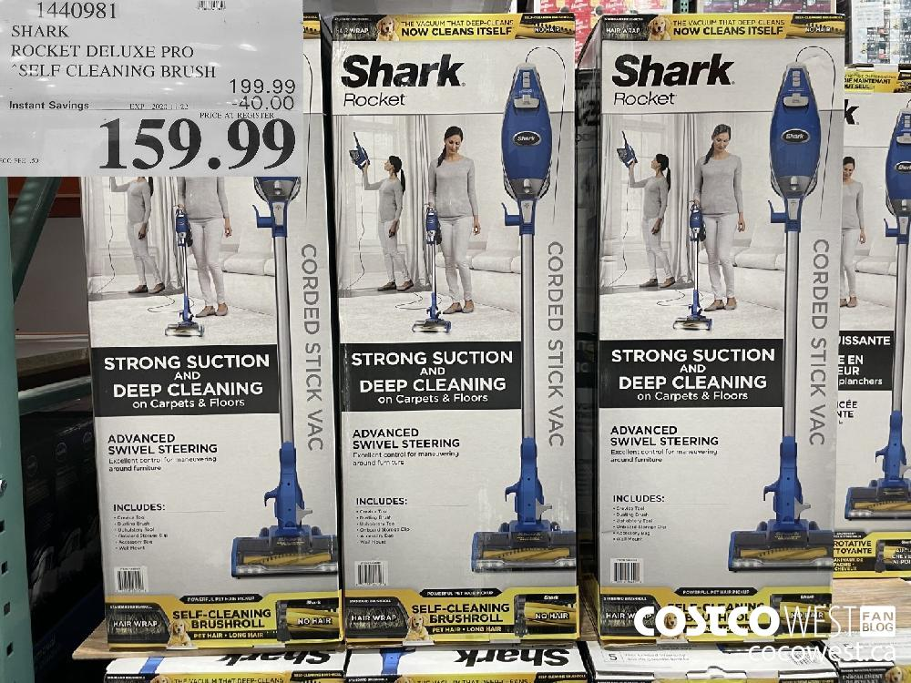1440981 SHARK | ROCKET DELUXE PRO SELF CLEANING BRUSH EXP. 2020 11-22 $159.99