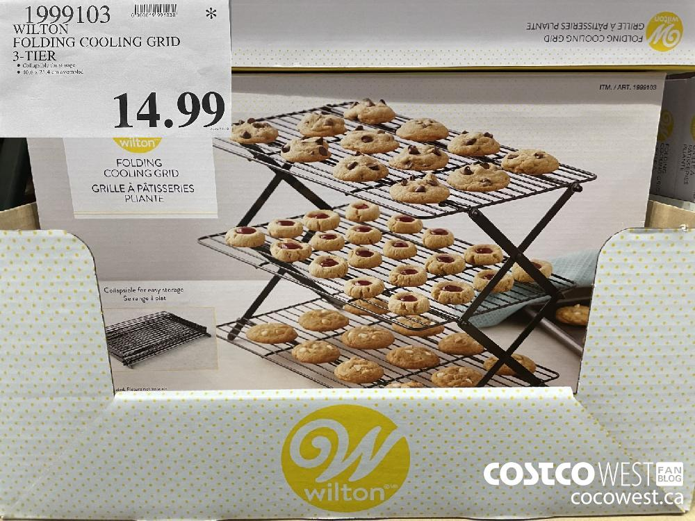 1999103 WILTON FOLDING COOLING GRID 3-TIER $14.99