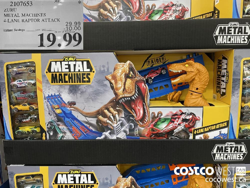 2107651 ZURU METAL MACHINES 4-LANE RAPTOR ATTACK EXP. 2020-11-22 $19.99