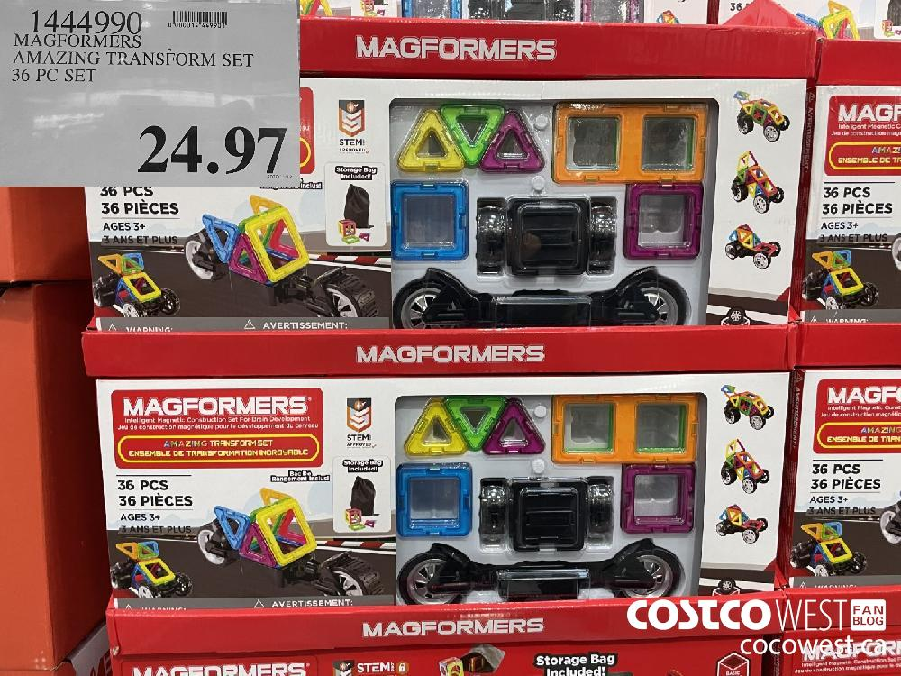 1444990 MAGFORMERS AMAZING TRANSFORM SET 36 PC SET $24.97
