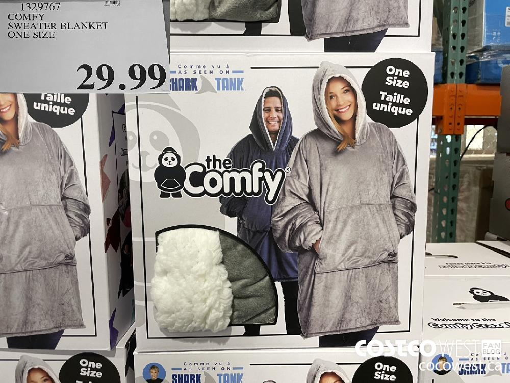 1329767 COMEFY SWEATER BLANKET ONE SIZE $29.99
