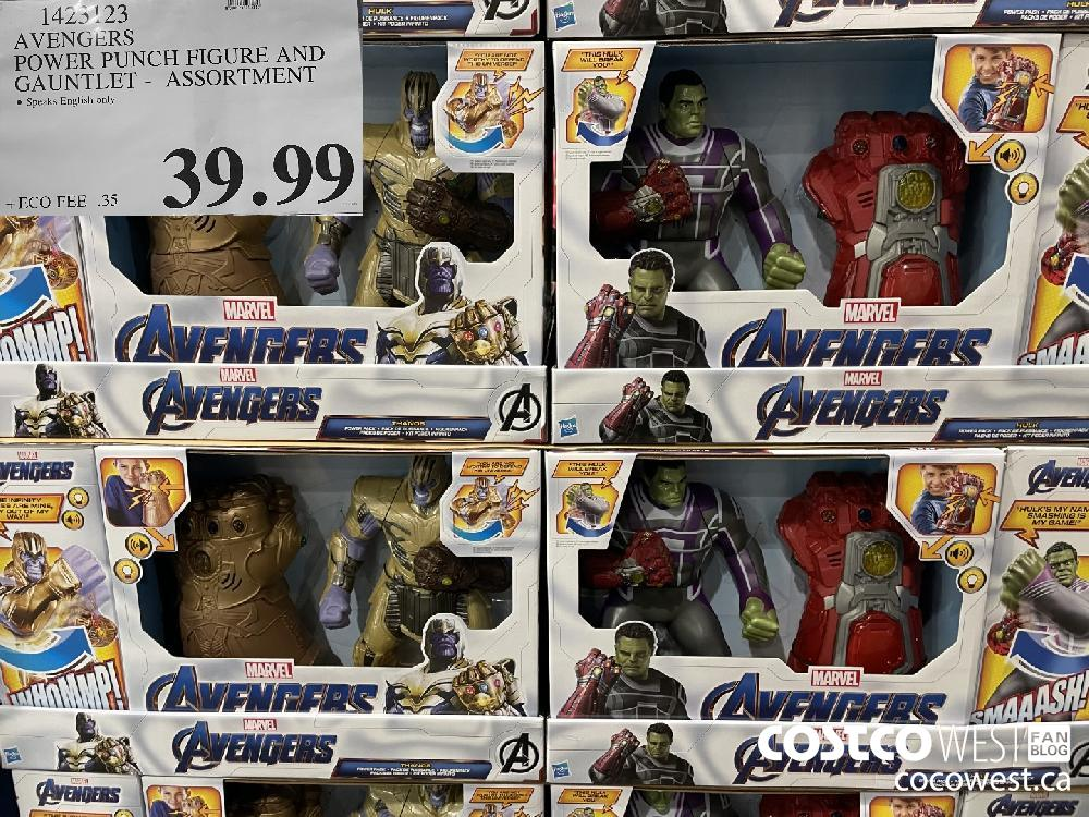 1423123 AVENGERS DOWER PUNCH FIGURE AND GAUNTLET - ASSORTMENT $39.99