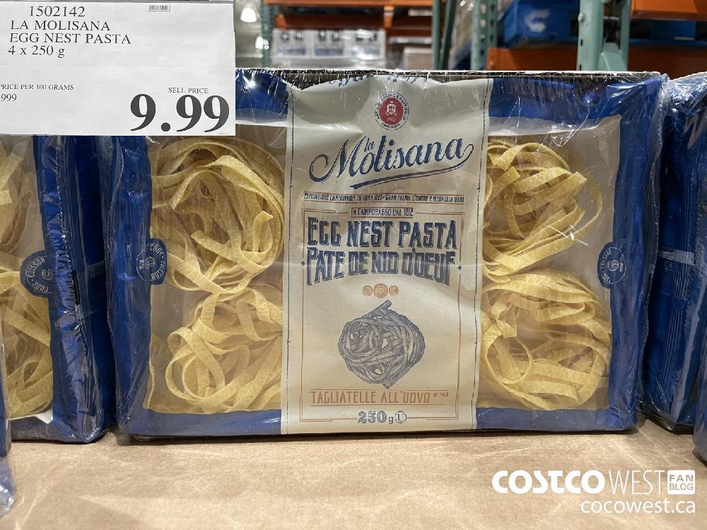 1502142 LA MOLISANA EGG NEST PASTA 4 x 250g $9.99