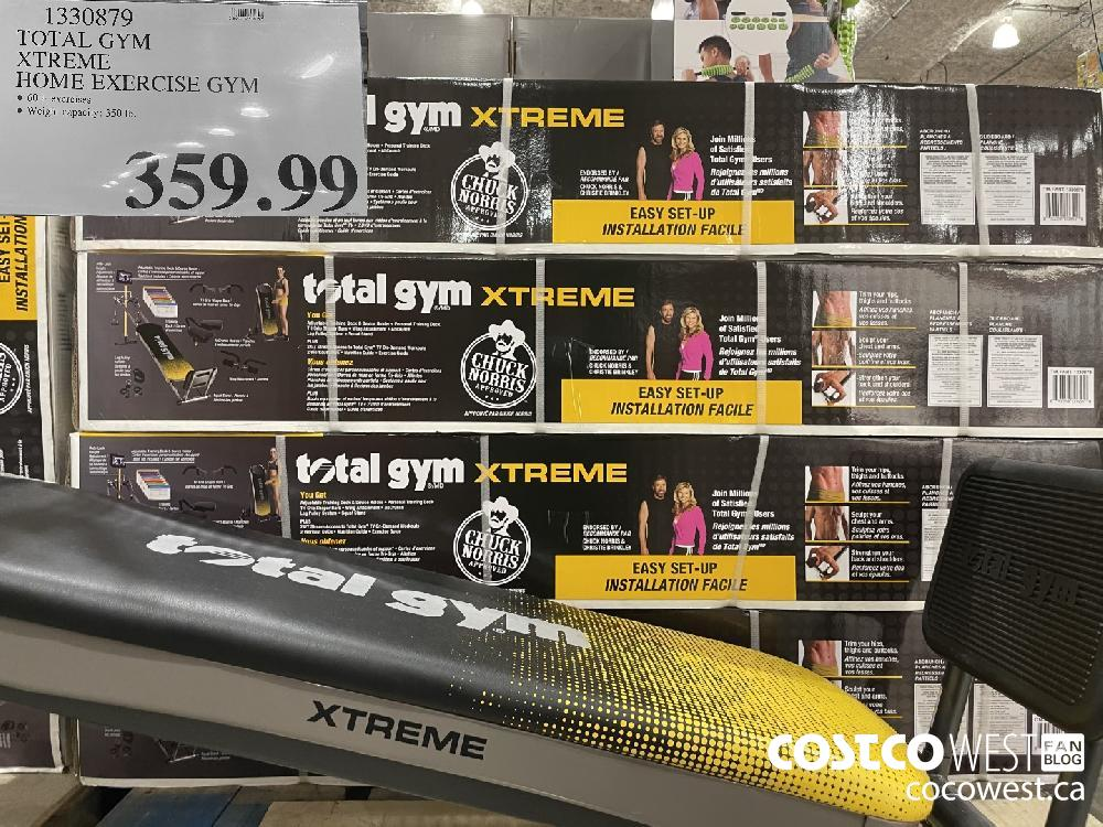 1330879 TOTAL GYM XTREME HOME EXERCISE GYM $359.99