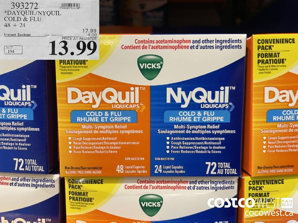 393272 *DAYQUIL/NYQUIL COLD