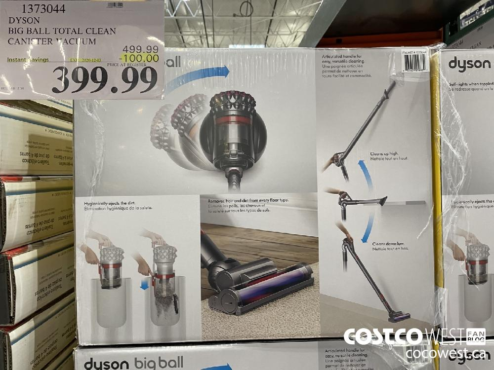 1373044 DYSON BIG BALL TOTAL CLEAN CANISTER VACUUM EXP. 2020-12-03 $399.99