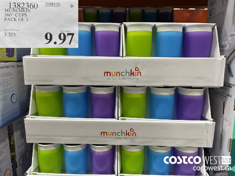 1382360 MUNCHKIN 360° CUPS $9.97